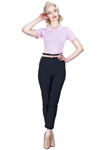 Bonnie Cigarette Trousers Plain Black new