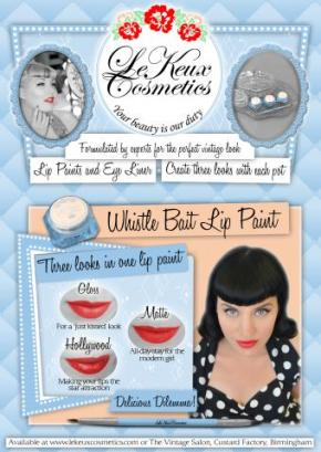 Le_Keux_Cosmetics_Advert_Whistle_Bait