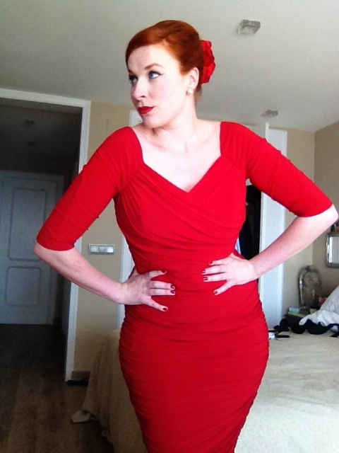 Cheap Pin Up Clothing Enchanting Review Monica Dress By Pinup Girl Clothing Miss Ginger Tulips