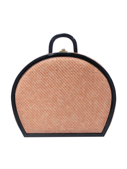 Peach Quilted bag