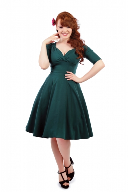 Trixie Doll Dress Teal